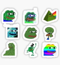 Rare Pepe Sticker Pack Sticker
