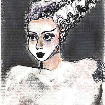Bride of Frankenstein by TheLastOlympia