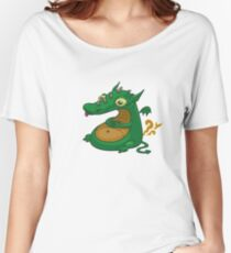 Fluff the Dragon Women's Relaxed Fit T-Shirt