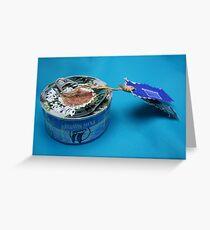 Mail art = Tuna Box, Tuna Book ! Greeting Card