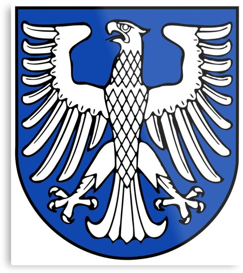 Schweinfurt Coat Of Arms Germany Metal Print By Tonbbo Redbubble