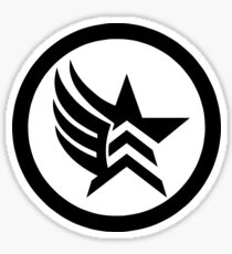 Mass Effect Paragade Sticker Sticker