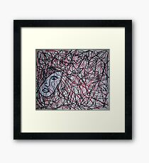 Inside The Mind Of A Woman Framed Print