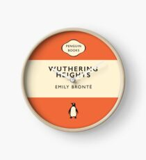 Penguin Classics Wuthering Heights Clock