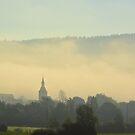 Misty morning by Arie Koene