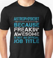 ASTROPHYSICIST BEST COLLECTION 2017 T-Shirt