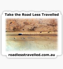 Oodnadatta Track Australian Outback - Take The Road Less Travelled Sticker