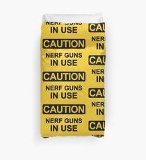 Nerf Guns In Use Duvet Cover