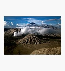 M. Bromo n Mt. Semeru, East Java, INDONESIA Photographic Print