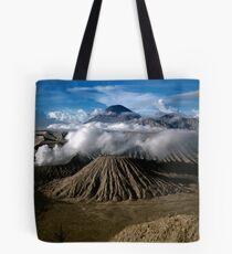 M. Bromo n Mt. Semeru, East Java, INDONESIA Tote Bag