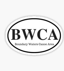 Boundary Waters Canoe Area Wilderness Sticker