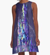Magic Princess Fairytale Castle Kingdom A-Line Dress