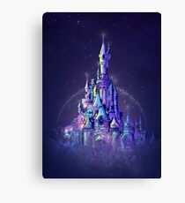 Magic Princess Fairytale Castle Kingdom Canvas Print