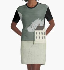 The White House Graphic T-Shirt Dress