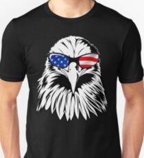 Patriotic Eagle America 4th of July American Flag T-shirt T-Shirt