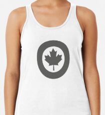 Low Visibility Roundel of the Royal Canadian Air Force  Women's Tank Top
