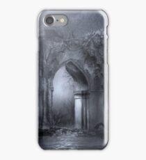 Dark Gothic Ruins Archway iPhone Case/Skin