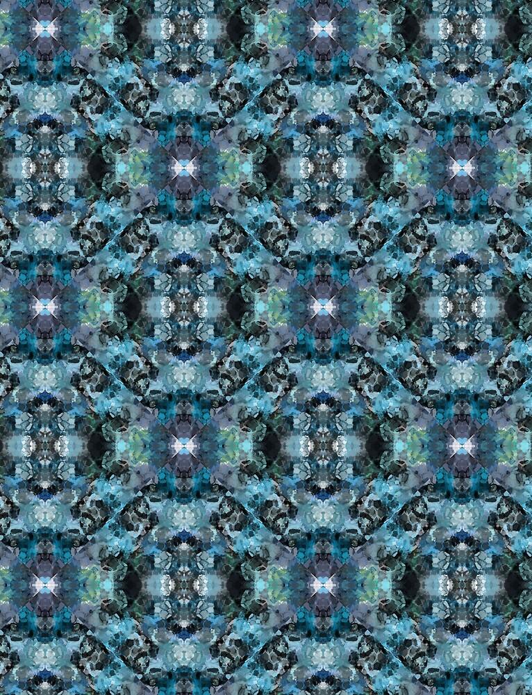 blue diamonds by Gazzah