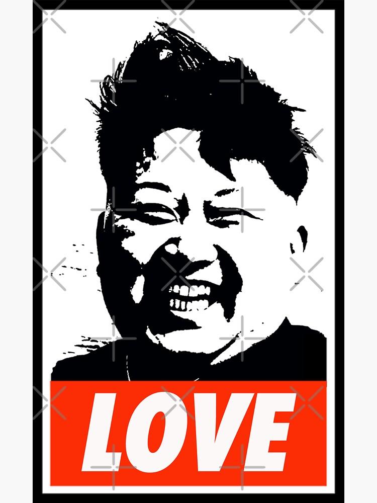 Kim Jong Un LOVE by Thelittlelord