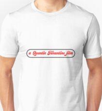 Camiseta unisex Una película de Quentin Tarantino
