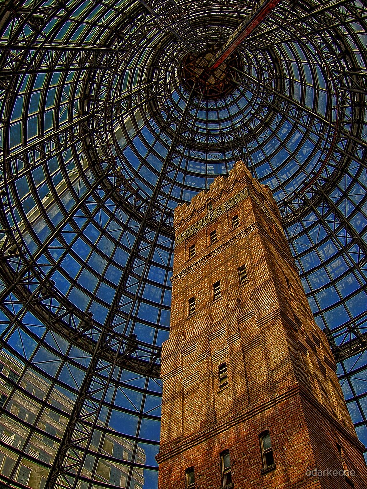Lead  Pipe & Shot Tower HDR by odarkeone