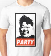 Kim Jong Un PARTY Unisex T-Shirt