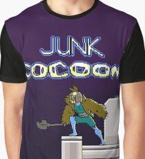 Junk Cocoon 8 Bit Graphic T-Shirt