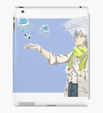 Watching the Jellyfishes- DmmD Clear iPad Case/Skin