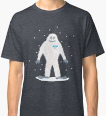 Yeti with Name tag Classic T-Shirt