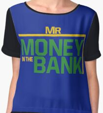 Mr money in the bank Chiffon Top