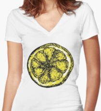 The Stone Roses Women's Fitted V-Neck T-Shirt