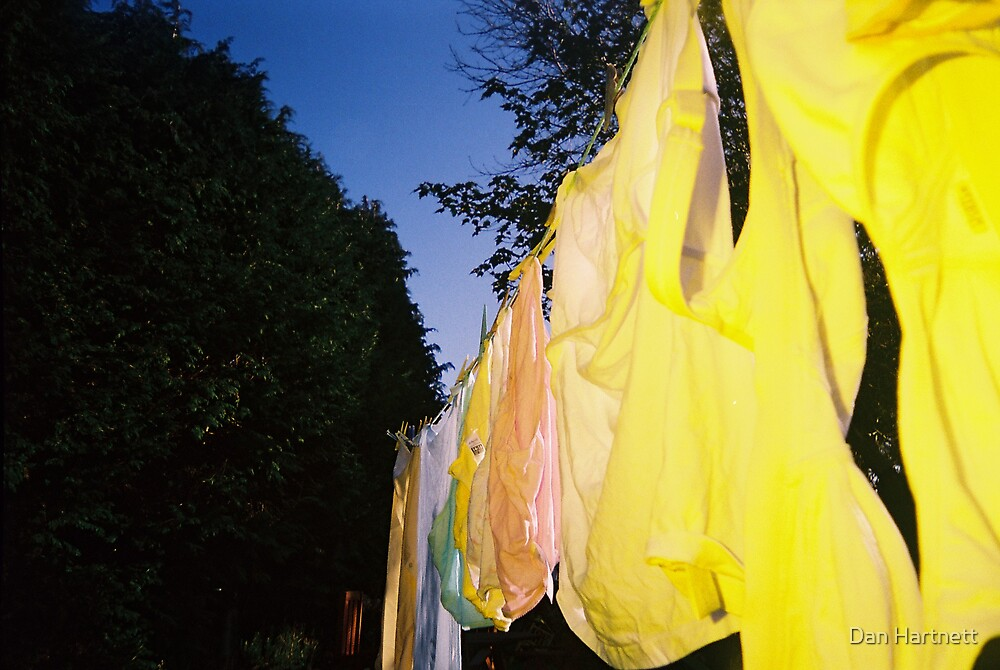 Clothes Line by Dan Hartnett
