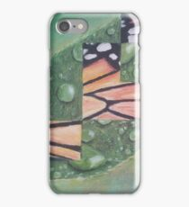 Monarch Butterfly Transformation iPhone Case/Skin