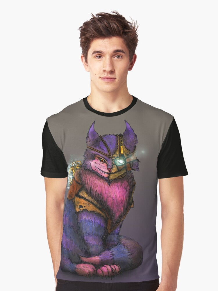 CHESHIRE Graphic T-Shirt Front
