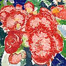 Begonias by Samantha Reichert