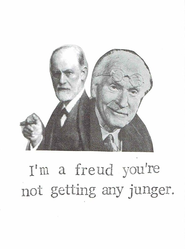 Im a freud youre not getting any junger greeting cards by im a freud youre not getting any junger by bluespecsstudio bookmarktalkfo Images