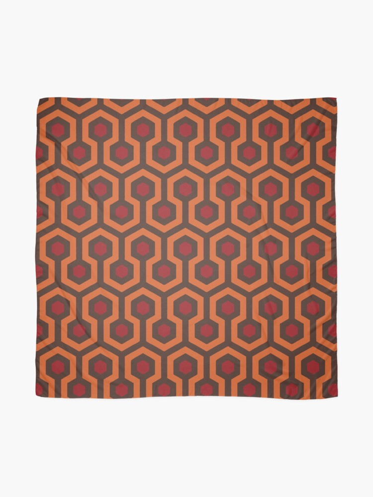 Alternate view of REDRUM Overlook Hotel Carpet Stephen King's The Shining Scarf