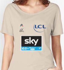 Team Sky Yellow Jersey 2017 - Le Tour De France Women's Relaxed Fit T-Shirt