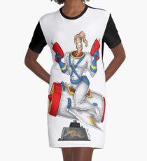 Earthworn Jim - Pinup Graphic T-Shirt Dress