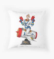Earthworn Jim - Pinup Throw Pillow