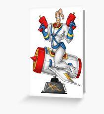 Earthworn Jim - Pinup Greeting Card