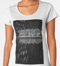Forest reflection Women's Premium T-Shirt