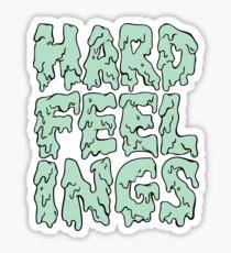 Hard Feelings  Sticker