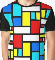 Bauhaus-esque Mid Century Modern 4 Graphic T-Shirt