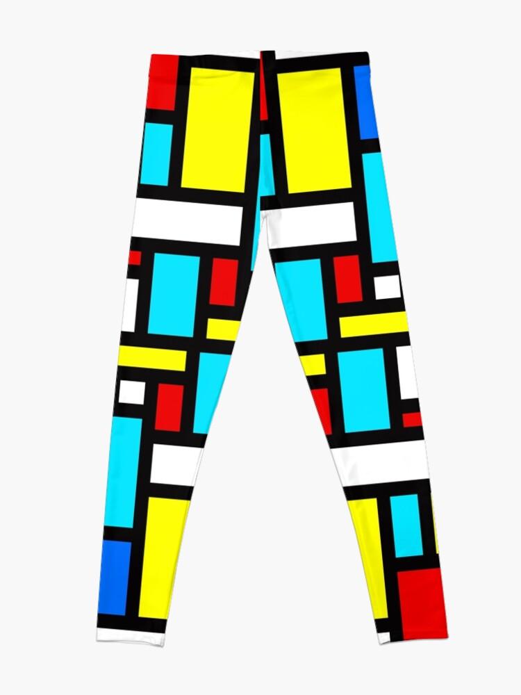 Alternate view of Bauhaus-esque Mid Century Modern 4 Leggings