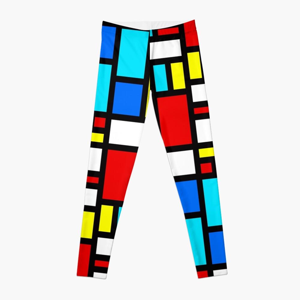 Bauhaus-esque Mid Century Modern 4 Leggings