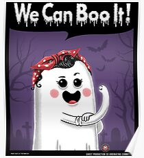 We can boo it! Poster