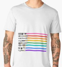 Pride Lightsabers Men's Premium T-Shirt