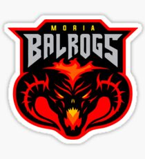 Balrog Lord of the Rings Moria Sticker
