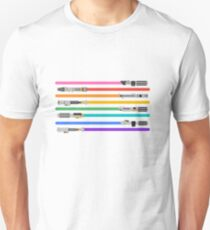 LGBT+ Lightsabers Unisex T-Shirt